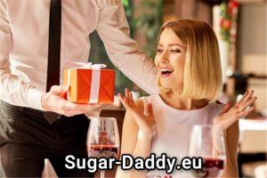 Ein Sugardaddy ist super reicher Mann